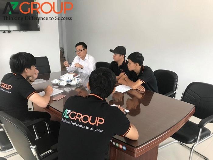 Đội ngũ chuyên viên kỹ thuật chuyên nghiệp của AZGroup