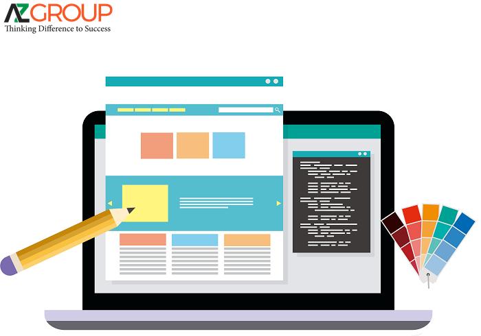 Dịch vụ thiết kế website tại Bình Dương của AZGroup