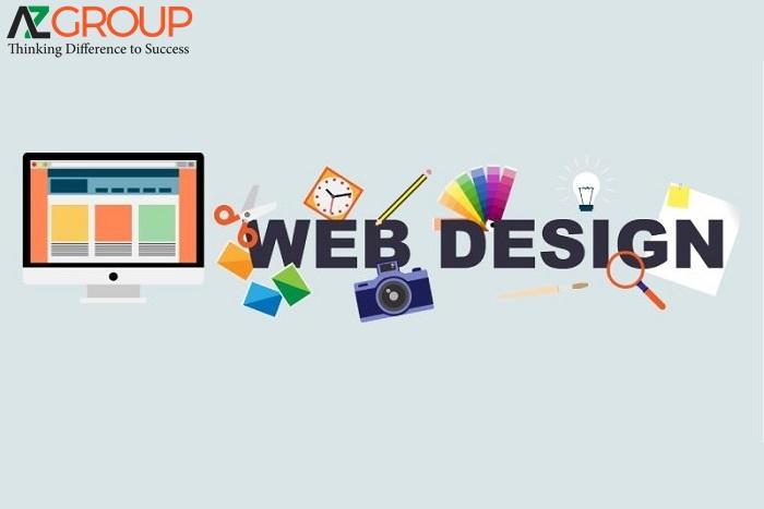 AZGroup đơn vị cung cấp dịch vụ thiết kế website tại Bình Dương