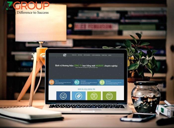 Dịch vụ thiết kế website tại thành phố Hồ Chí Minh của AZGroup