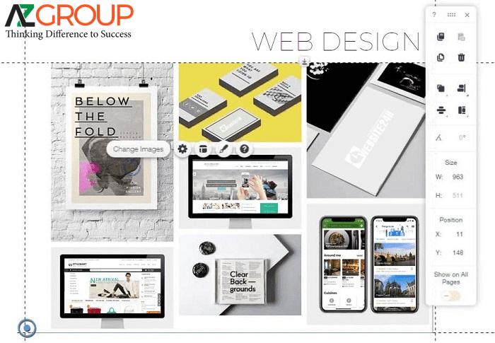 AZGroup đơn vị cung cấp dịch vụ thiết kế website tại thành phố Hồ Chí Minh