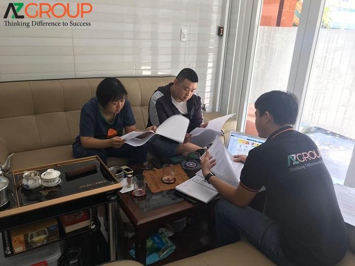 Dịch vụ thiết kế website tại Vĩnh Long của AZGROUP