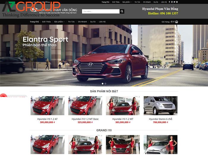 Tại sao cần thiết kế website xe hơi?