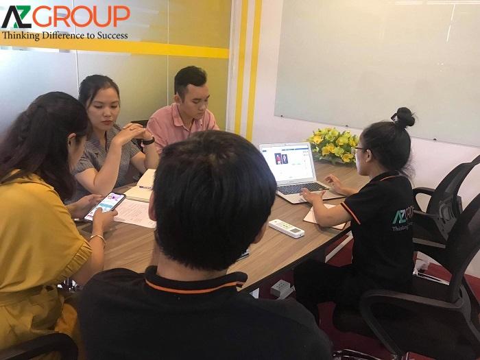 Đội ngũ tư vấn Marketing AZGroup