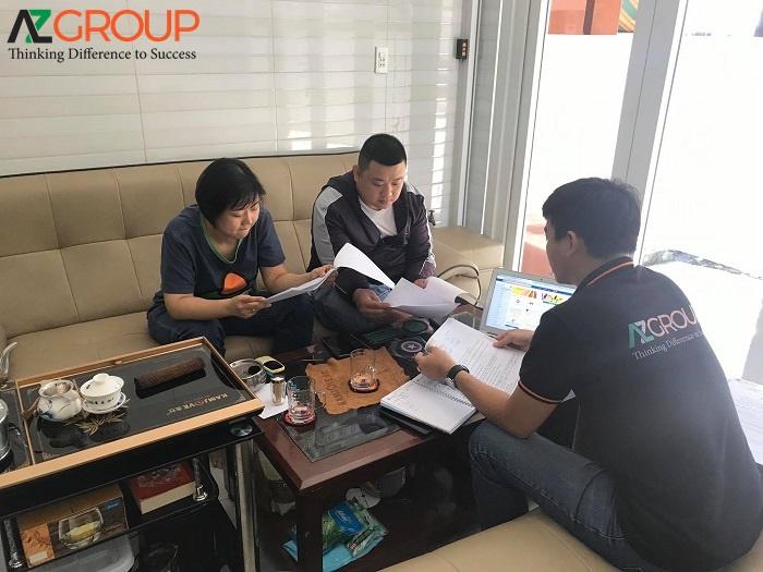 Quy trìnhTư vấn đào tạo Marketing thời công nghệ 4.0 tại AZGroup