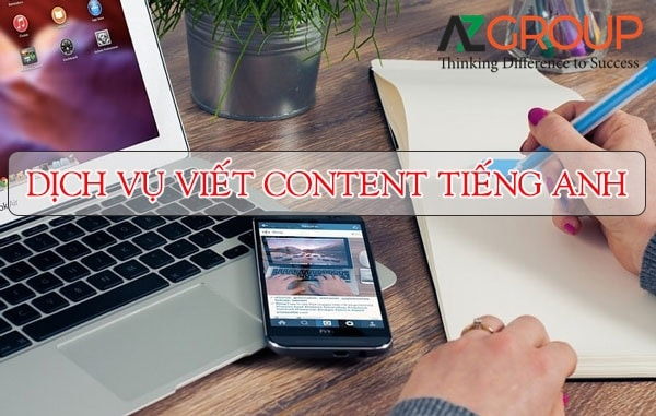 Dịch vụ viết content tiếng Anh
