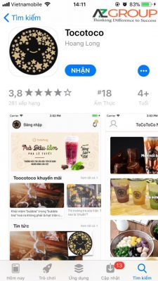App design in Ha Tinh