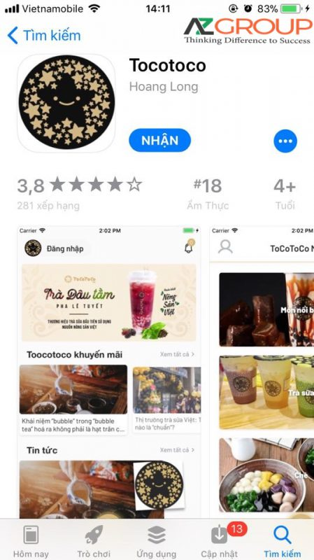 App design in Ha Tinh
