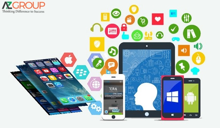 The popularity of App design service in Tien Giang