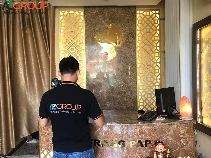 The process of training and consulting Marketing for Spa of AZgroup