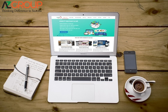 AZGroup provides in all fields of Website Design in An Giang