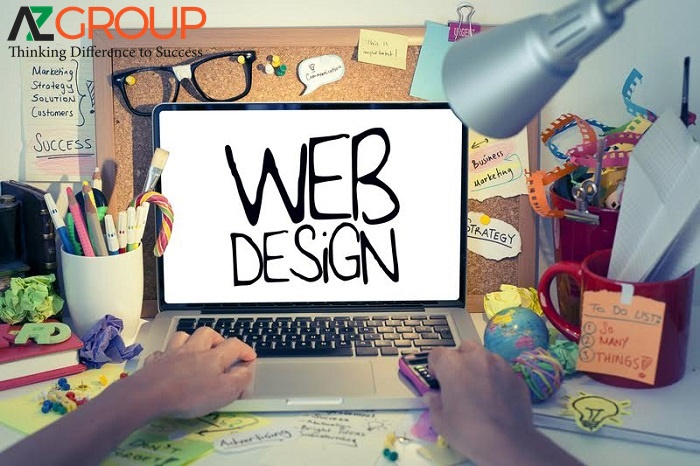 Website design service in Dong Thap of AZGroup company