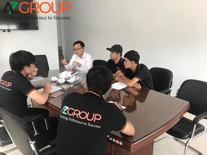 Commitment to support when designing website in Tra Vinh of AZGroup