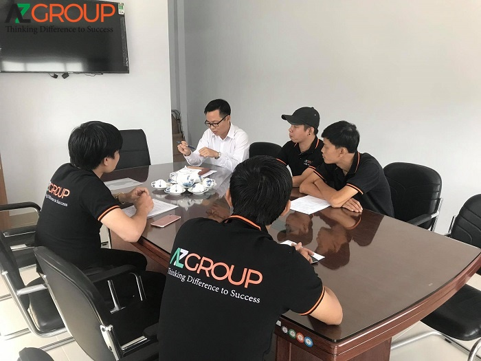 Commitment to customers of Azgroup
