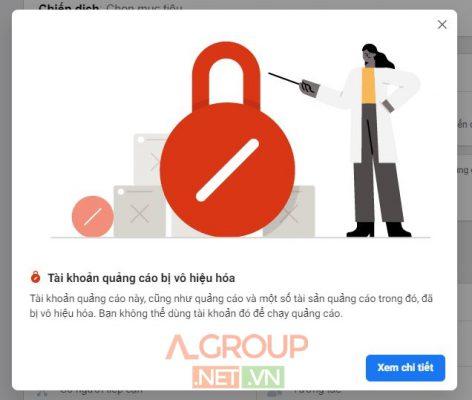Nhận kháng tài khoản quảng cáo Facebook